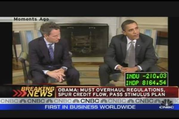Obama Lectures Wall Street