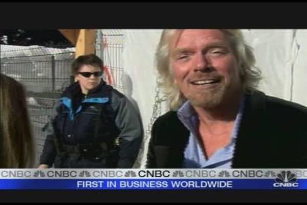 Branson on Silver Linings & Philanthropy