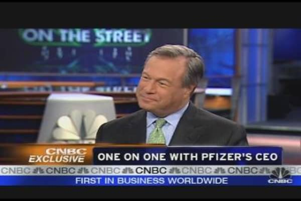 One on One with Pfizer's CEO