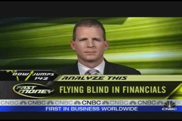 Analyze This: Flying Blind