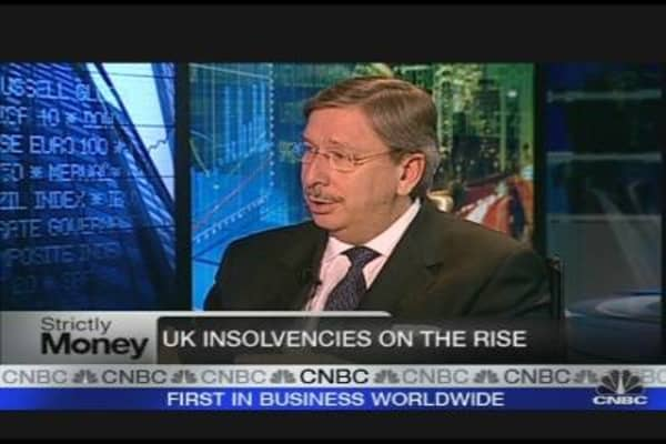 UK Insolvencies Jump