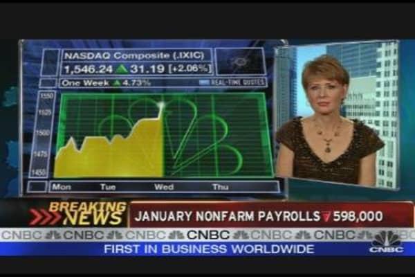 January Jobs Down