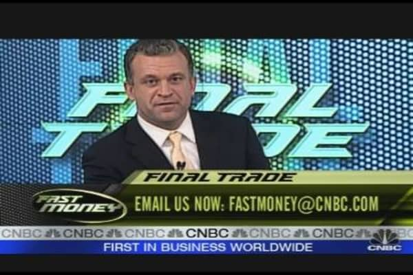 Fast Money Final Trades