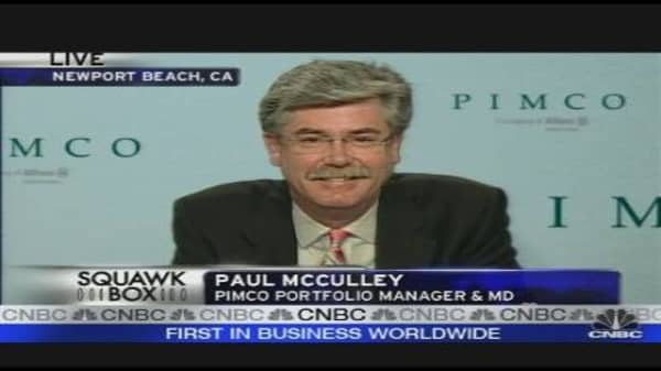 Pimco's McCulley: Treasury Plan Short on Details