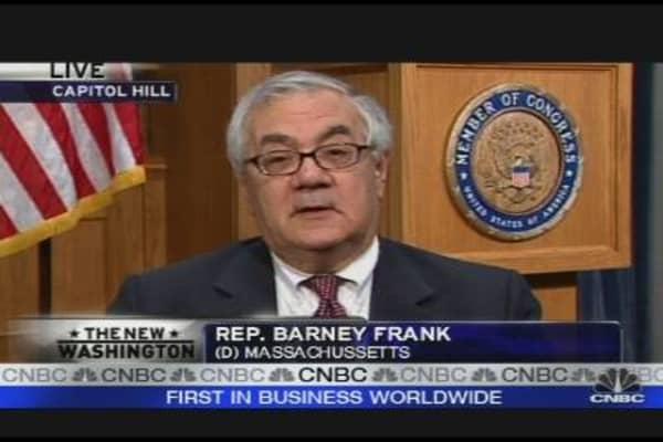 Barney Frank on Banks, TARP & Bonuses