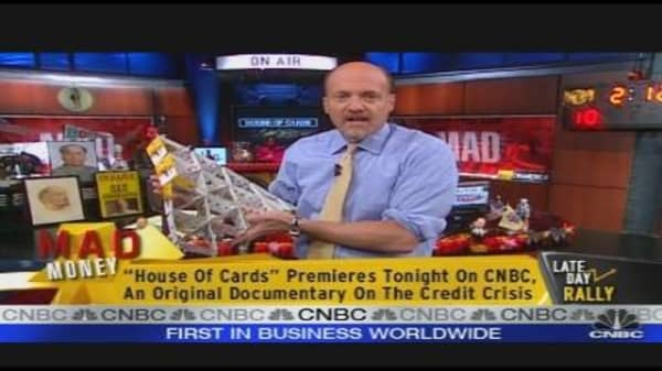 Cramer Discusses CNBC's 'House of Cards' Doc