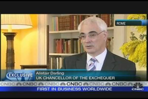 Alistair Darling on UK Economy