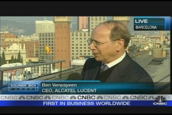 Alcatel Lucent CEO on Strategy