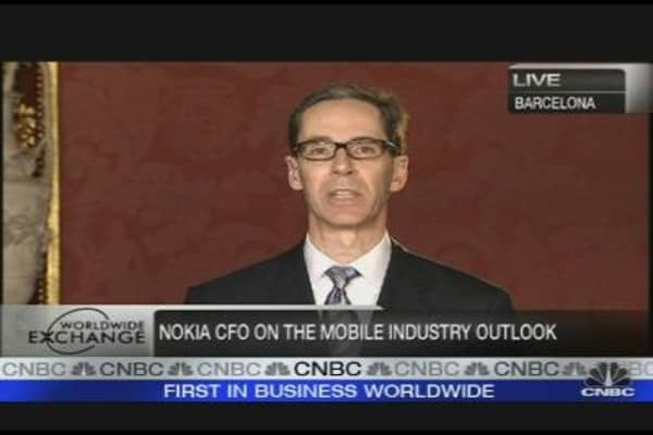 Nokia CFO on Mobile Industry Outlook