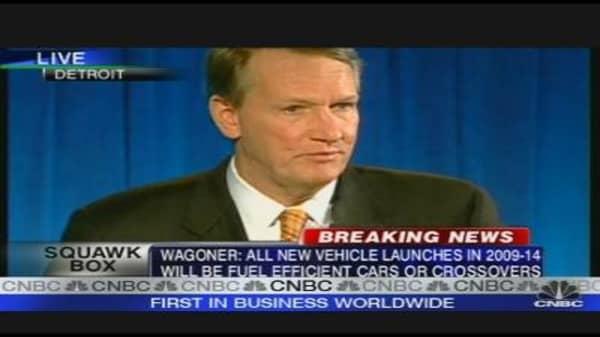 General Motors Press Conference
