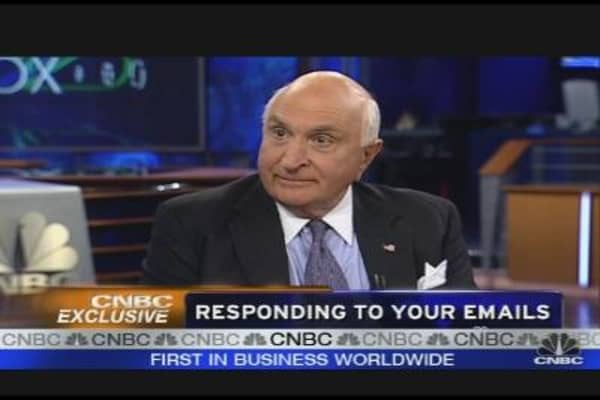 Langone on Lehman's Collapse, Big Three & More