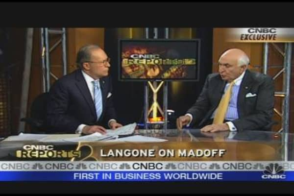 Exclusive: Langone on Madoff