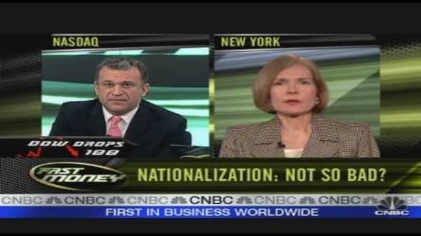 Nationalization: Not So Bad?