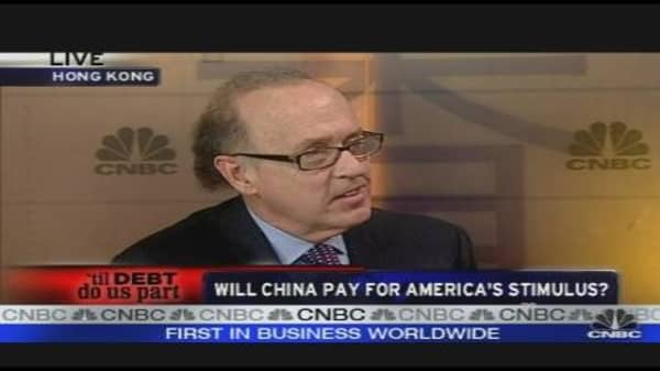 Whill China Pay for America's Stimulus?