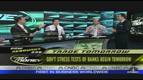 Banks Cramming for the Stress Test