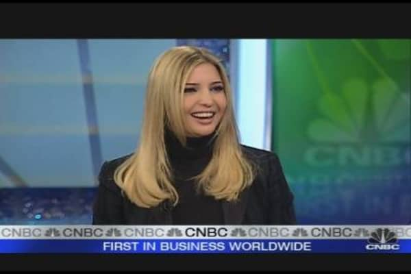 Ivanka Trump: Not Enough Buyers for Real Estate