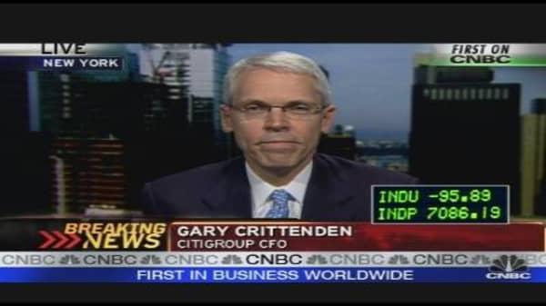 Citigroup CFO on $10B Loss