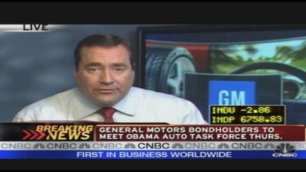 GM Bondholders to Meet W/ Auto Task Force