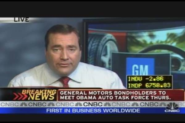 GM Bondholders to Meet W/ Auto Task Force