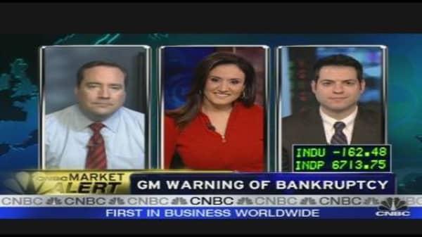 GM Warning of Bankruptcy