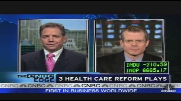 Smart Money: Health Care Reform Plays