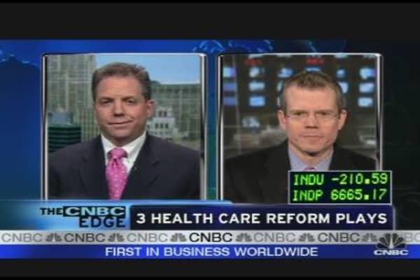 Smart Money: Health Care Reform Plays