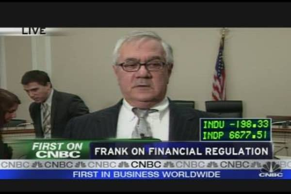 Frank on Financial Regulation