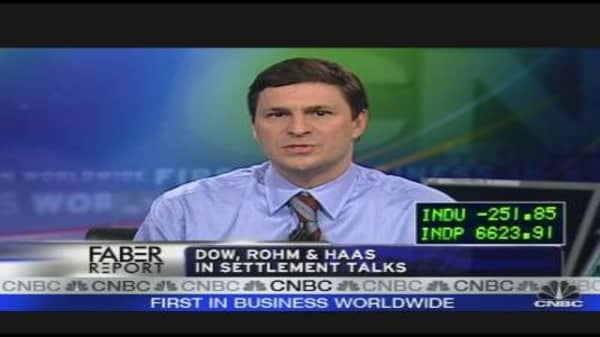Dow, Rohm & Haas: What's the Deal?