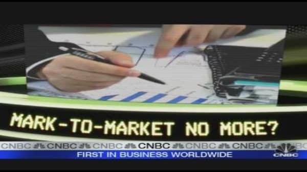 Mark-to-Market No More?