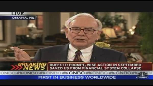 Warren Buffett: Bailing Out the Big Three