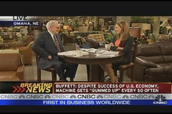Buffett: Finding the Right Solution