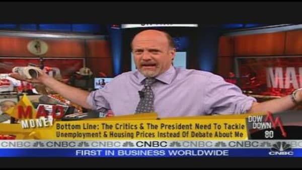 Cramer Answers The Critics