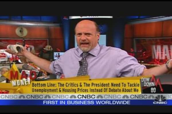 Cramer Answers The Critics