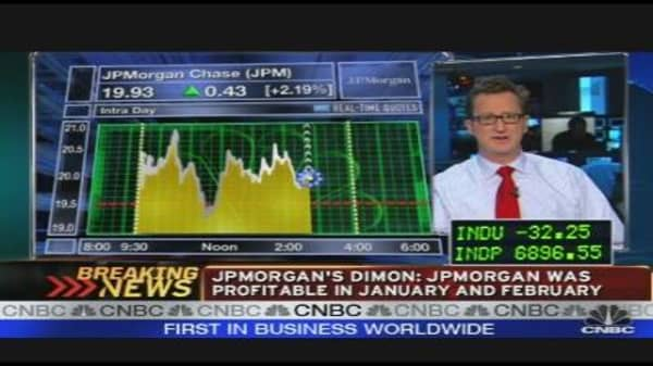 Dimon On JPM's Profitability