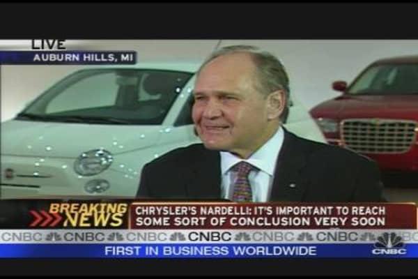 Chrysler CEO: Viability Plan & Auto Task Force Talks