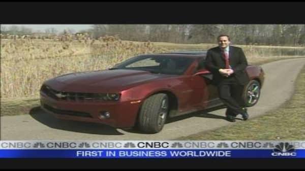 GM to Launch New Camaro