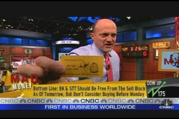 Sell Block: Bullish On BK, STT
