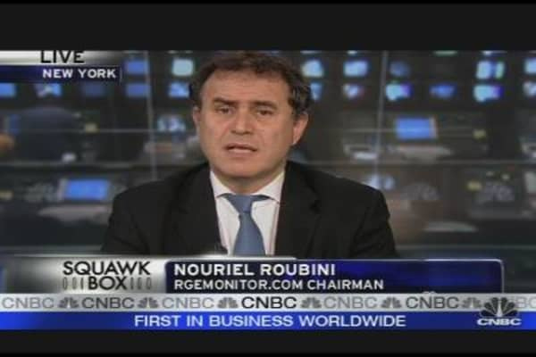 Roubini's Read on the Recession