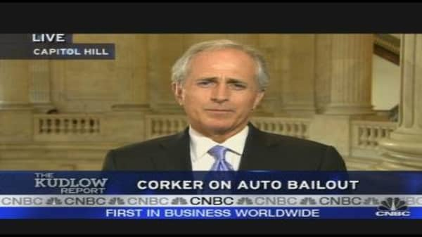 Corker On Auto Bailout