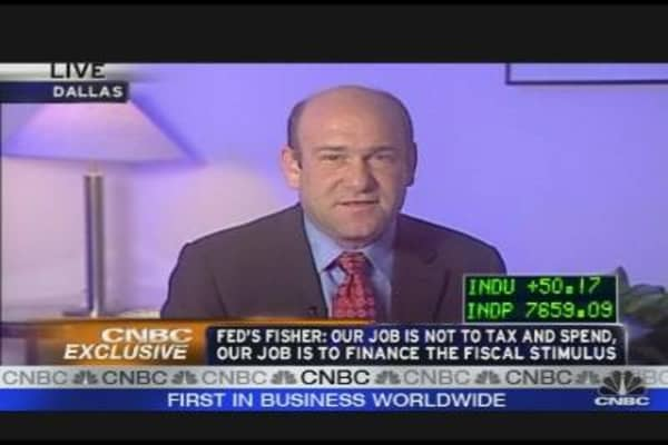 Fed's Fisher Speaks Out
