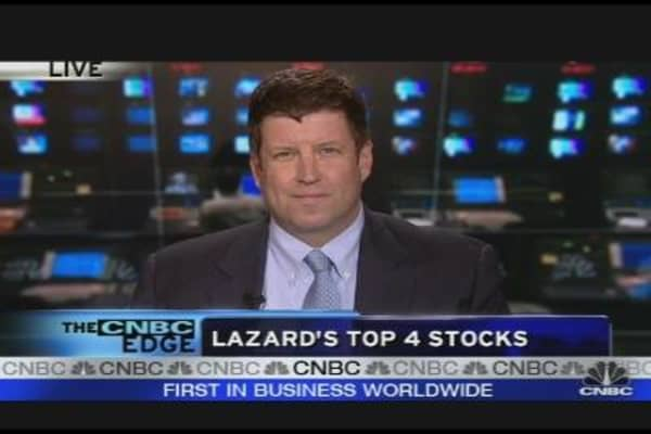 Lazard's Top Four Stocks
