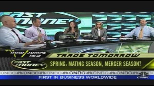 Mating Season, Merger Season?