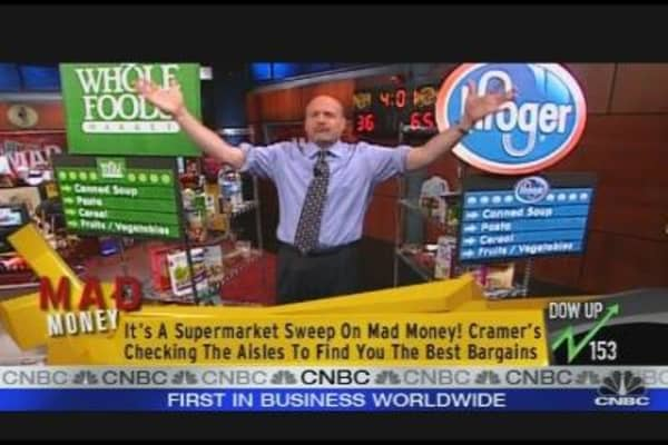 Cramer's Supermarket Sweep