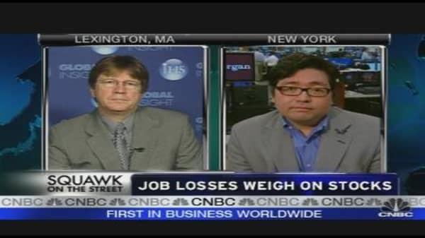 Job Losses Weigh on Stocks