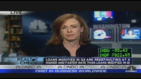 Realty Check: Mortgage Mod Effect