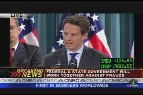 Geithner Fights Foreclosure Fraud