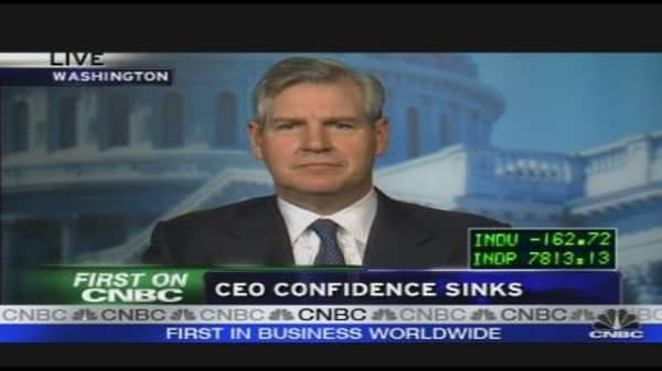 CEO Confidence Sinks