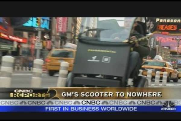 GM's Scooter to Nowhere