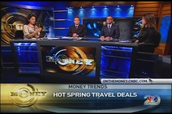Money Trends: Hot Spring Travel Deals