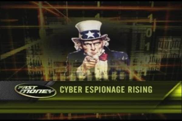 Cyber Espionage Rising